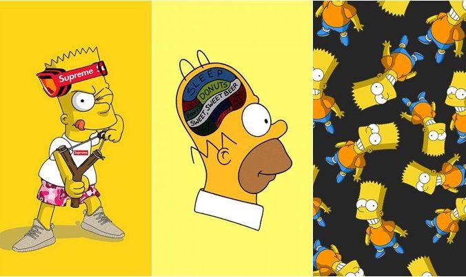 Papel de parede Os Simpsons (1)