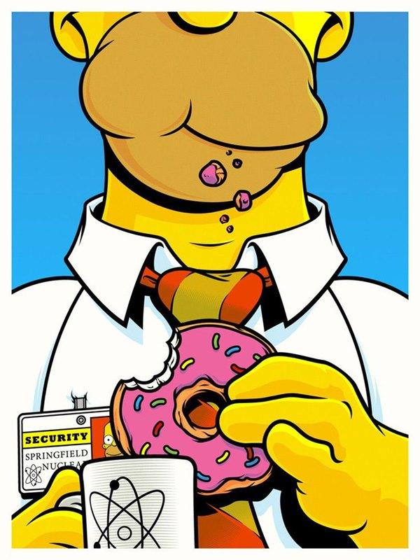 Papel de parede Os Simpsons (2)