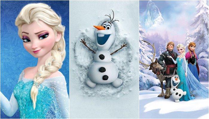 Papéis de parede da Frozen