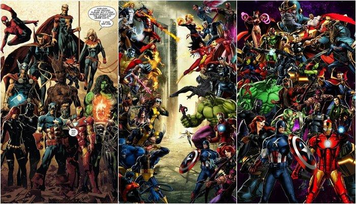 Papéis de parede de Super Heróis