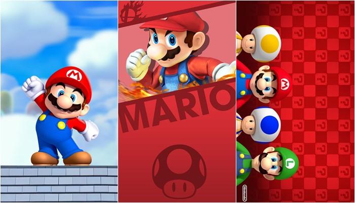 Papéis de parede do Mário para celular