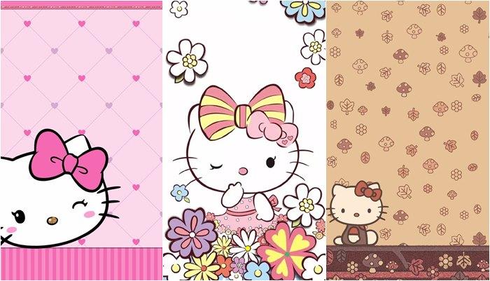 Papéis de parede da Hello Kitty para celular