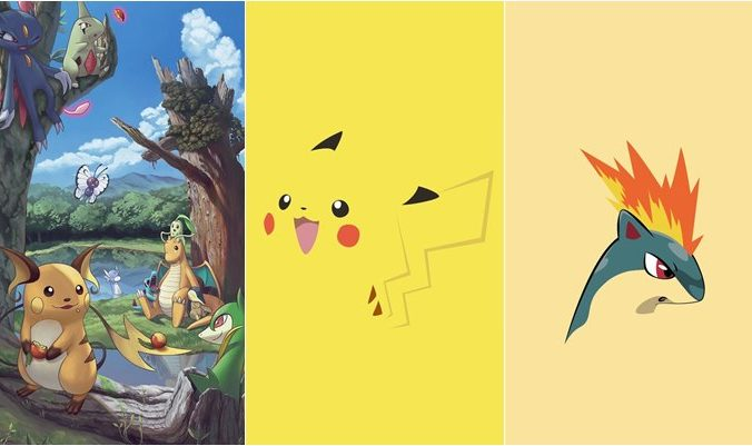 Papéis de parede do Pokémon