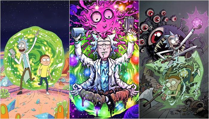 Papéis de parede do Rick and Morty