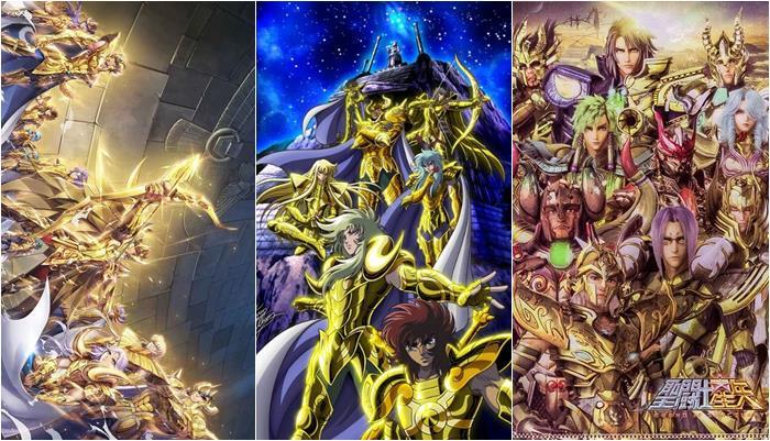Papéis de parede dos Cavaleiros do Zodíaco
