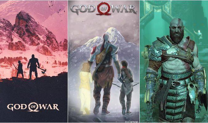 Papéis de parede God Of War