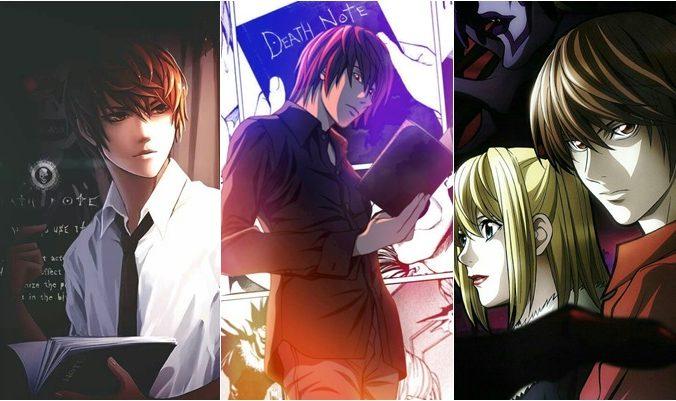 Papéis de parede do Death Note
