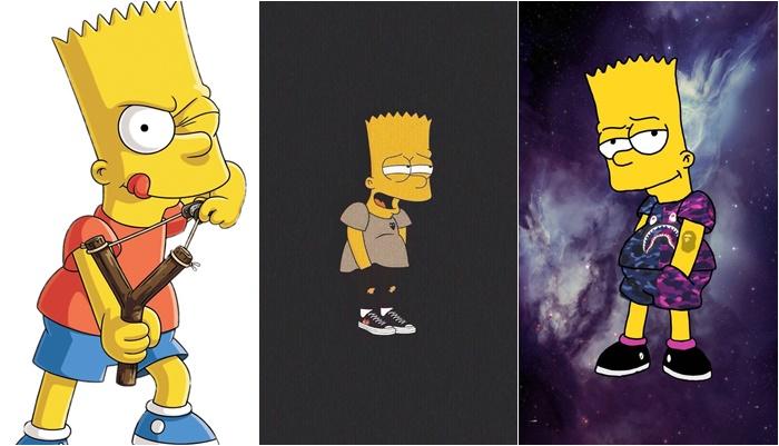 Papéis de parede do Bart
